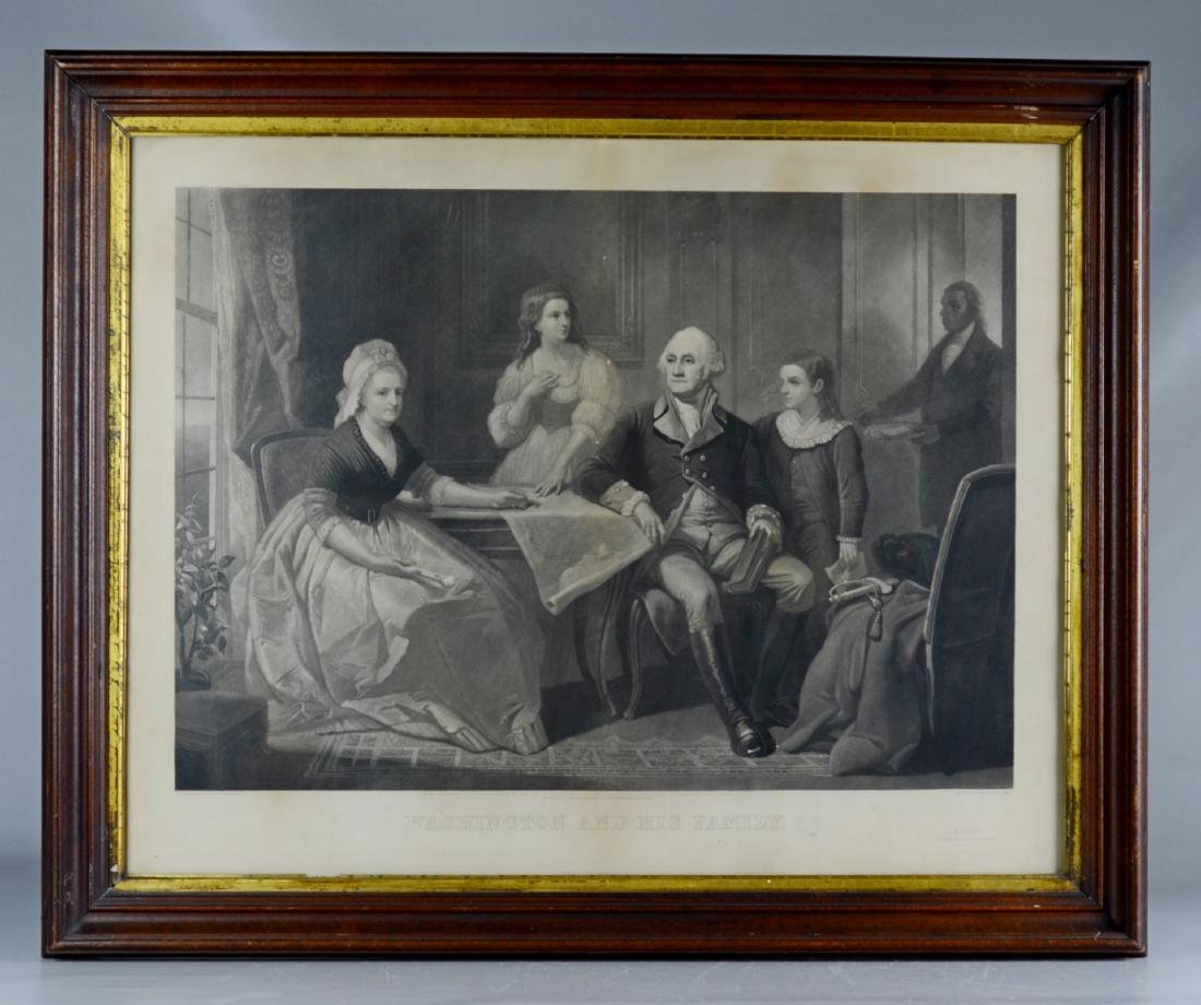 John Sartain (English, 1808-1897), aquatint etching - 2