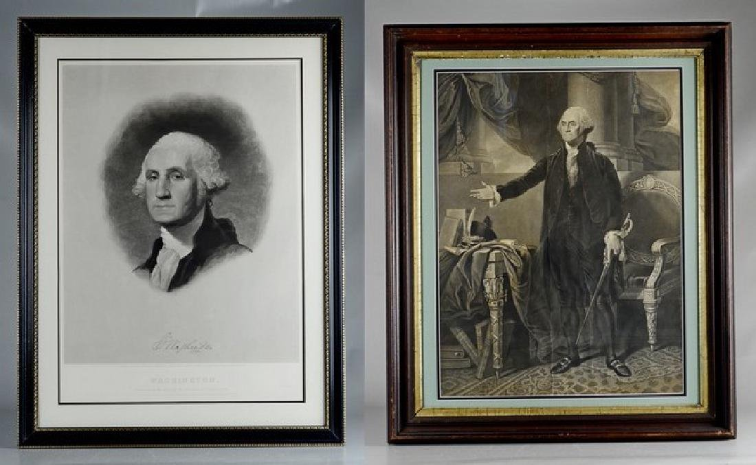 Pr George Washington engravings