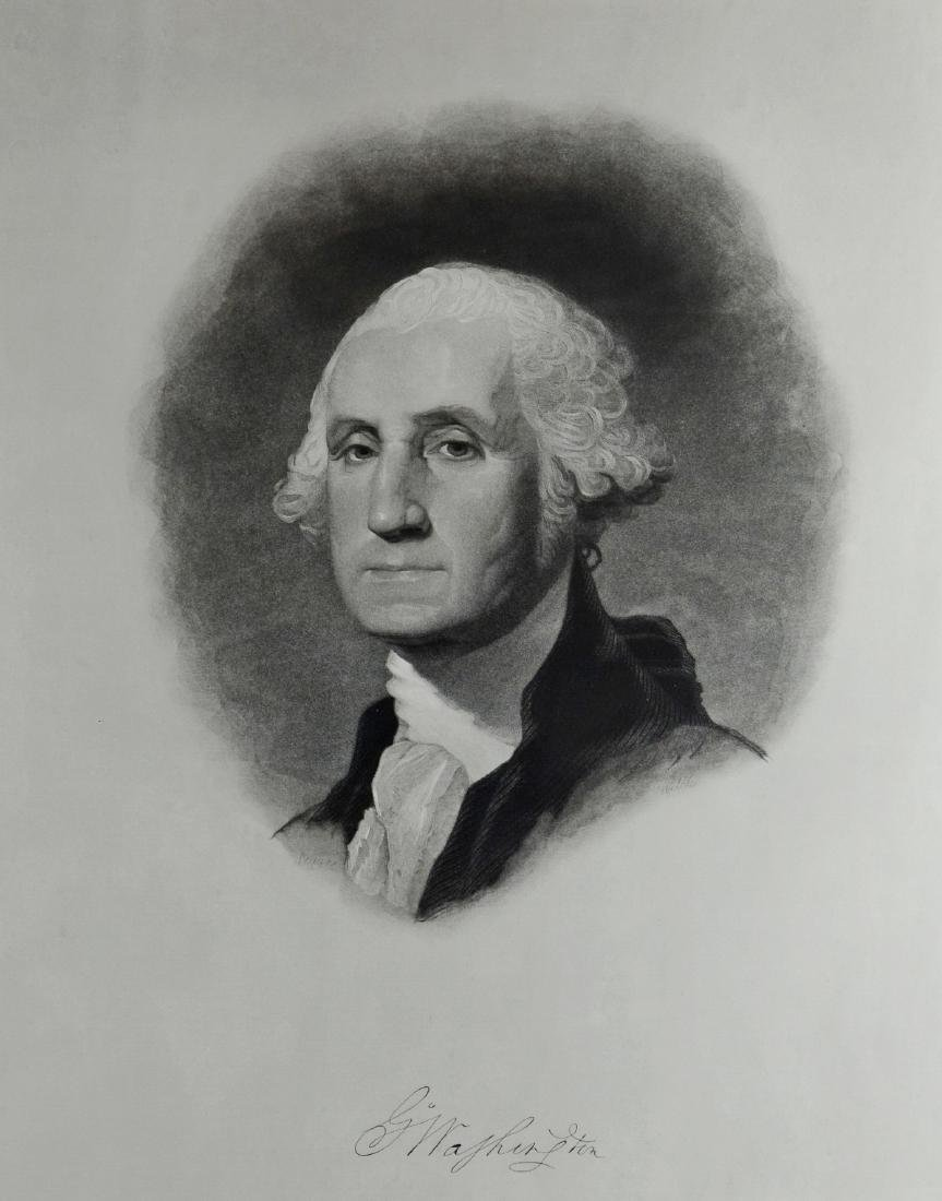 Pr George Washington engravings - 3