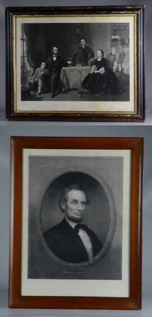 Pr Abraham Lincoln engravings