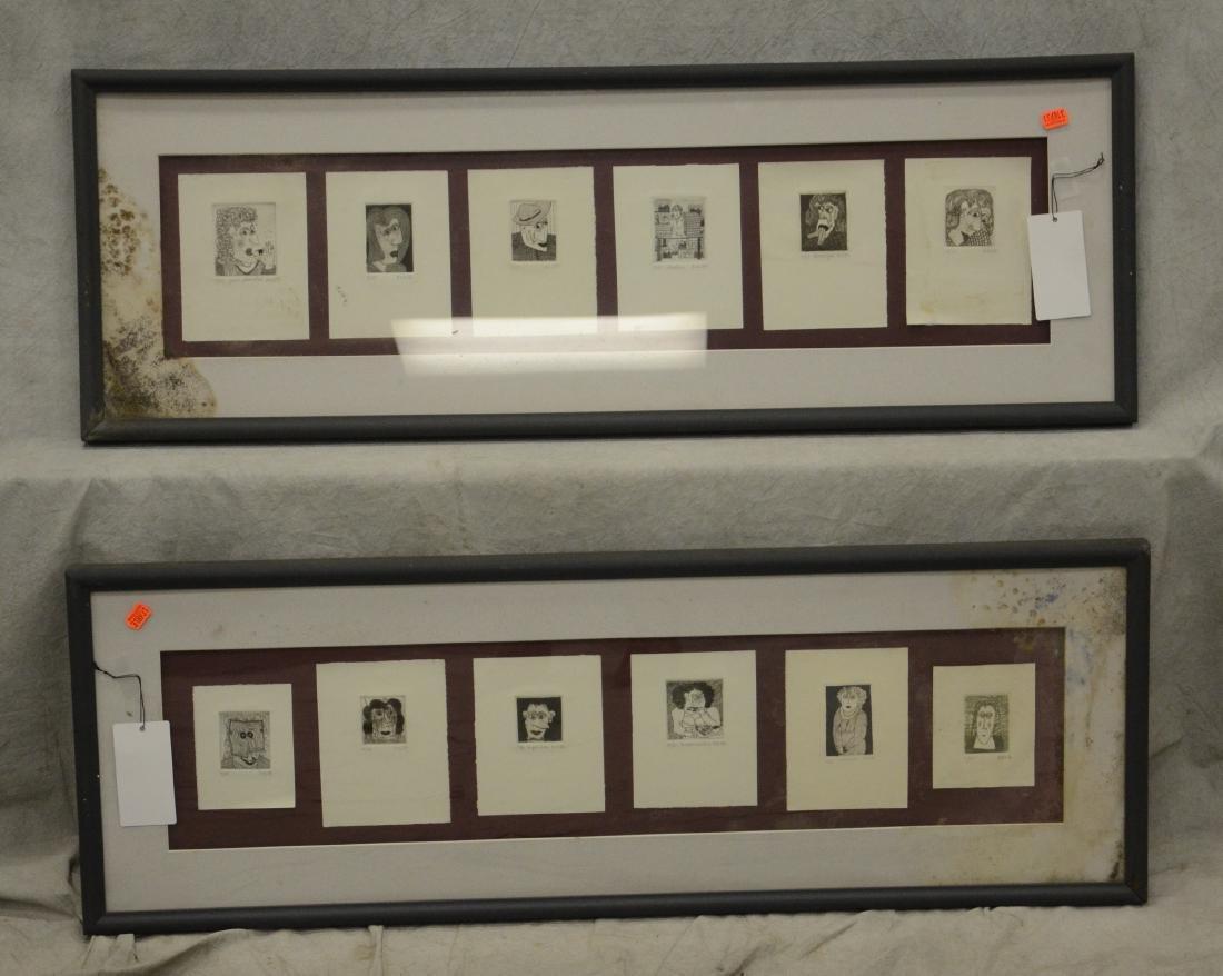 (14) Assorted artworks - 4