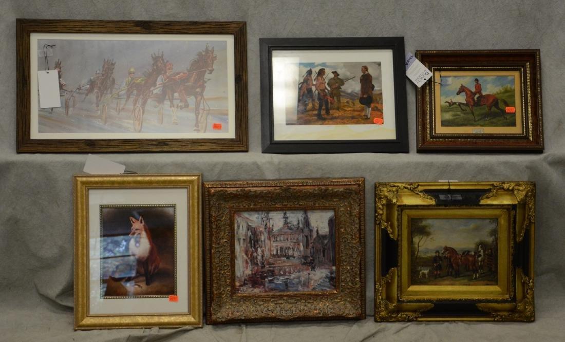 (14) Assorted artworks - 5