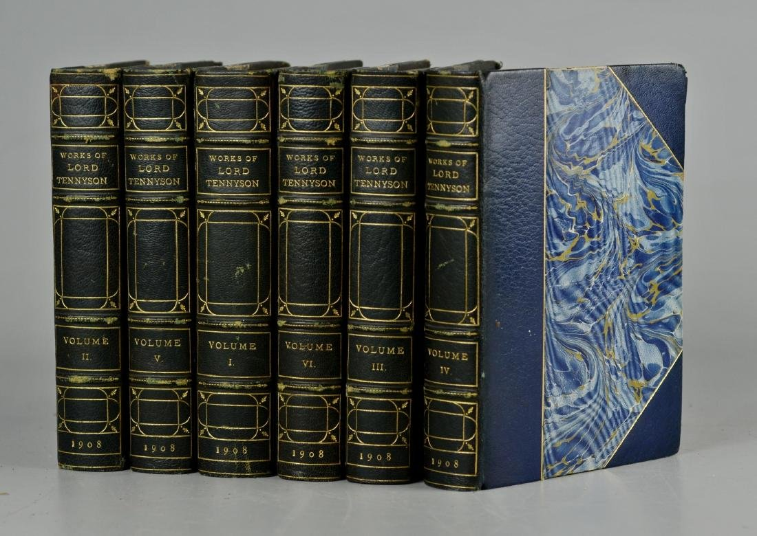 The Works of Alfred Lord Tennyson, 6-volume set