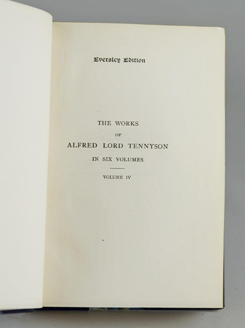 The Works of Alfred Lord Tennyson, 6-volume set - 3