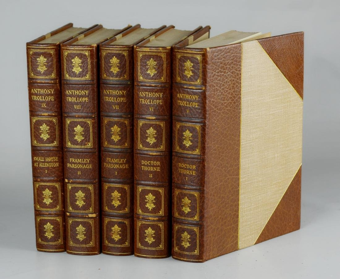 The Works of Anthony Trollope
