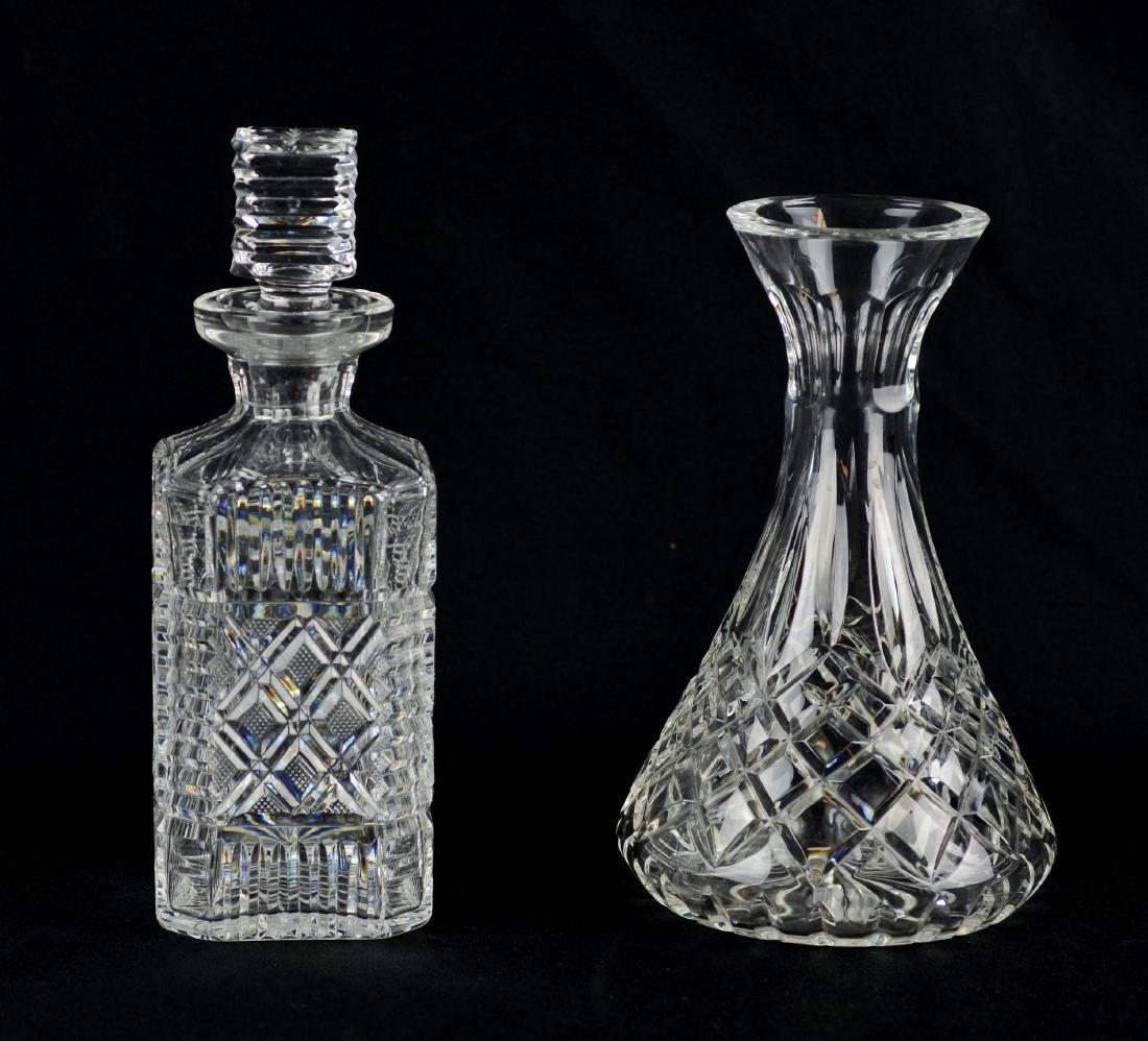 (2) Cut Glass Decanters