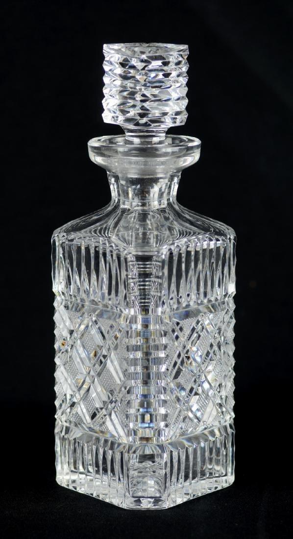 (2) Cut Glass Decanters - 3
