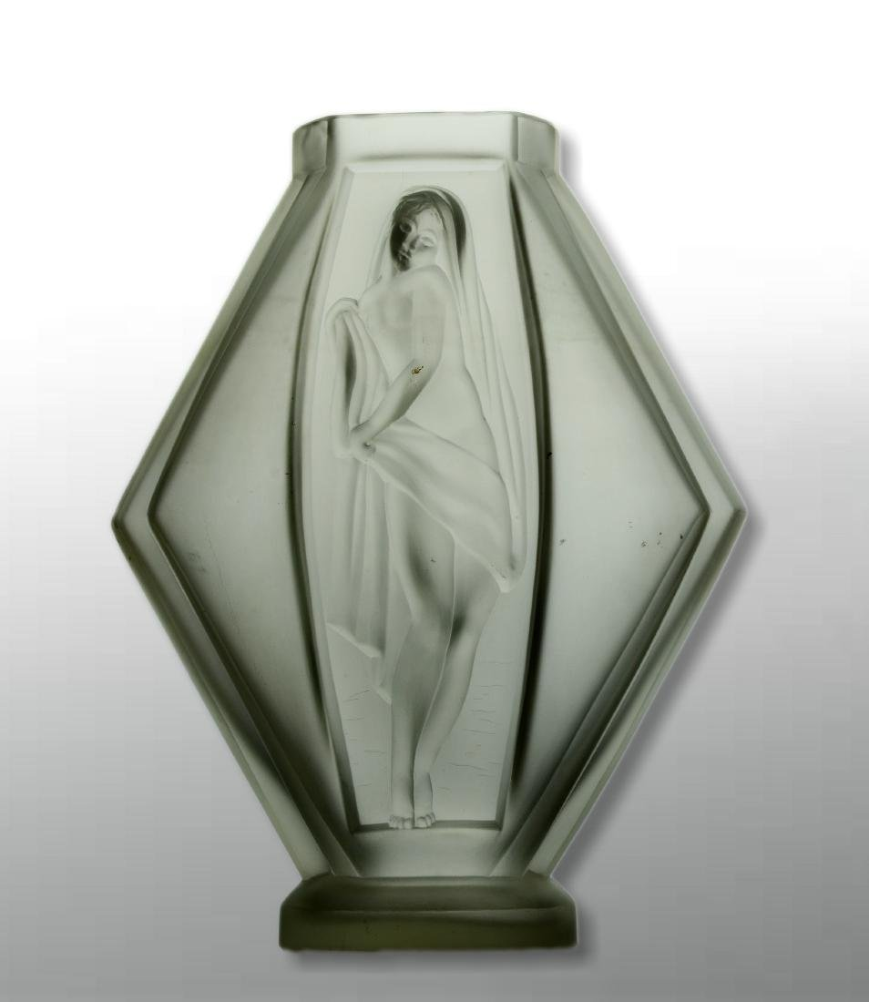 Etling France Art Deco Vase - 3