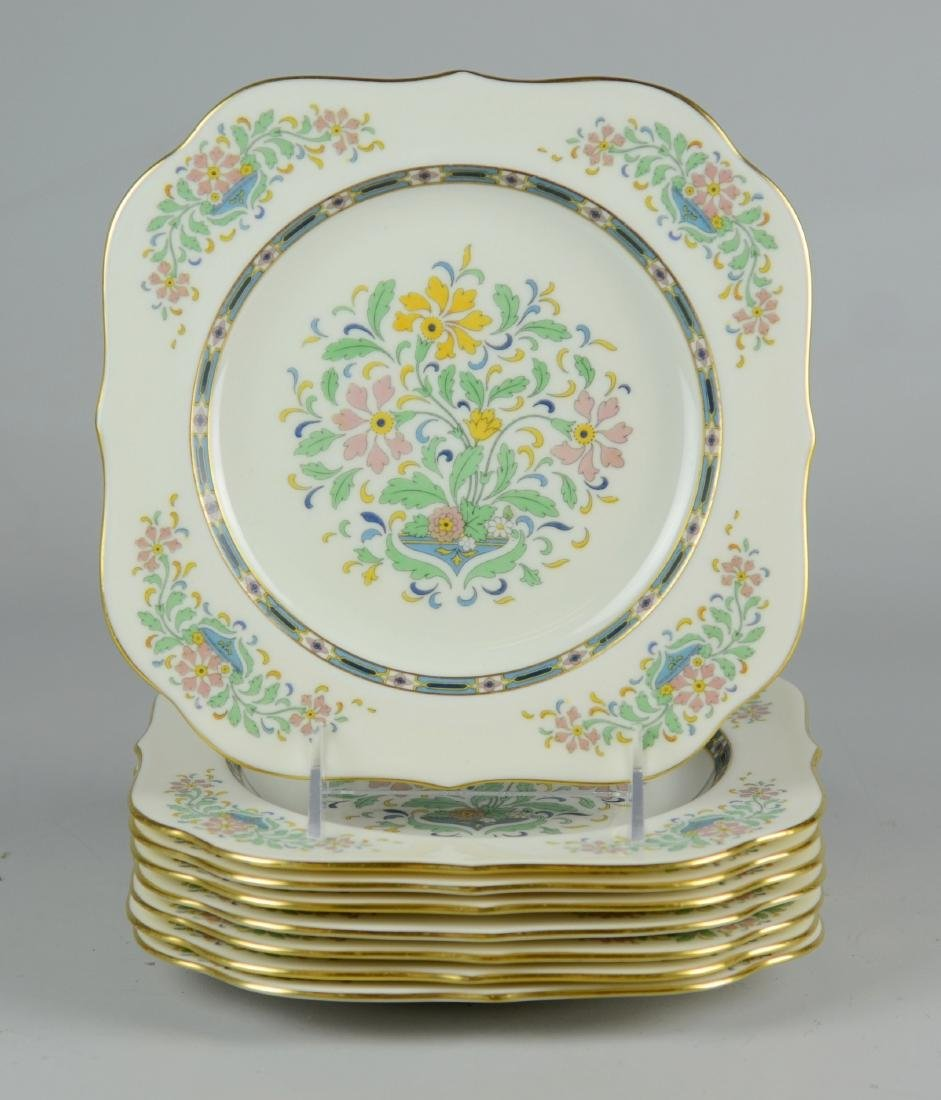 (6) Lenox Mystic Square Salad Plates