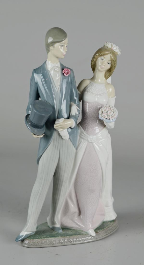 "Lladro ""Wedding"" Figure"