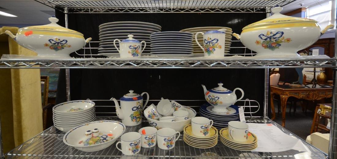 (87) Pcs Bernardaud Limoges Dinnerware