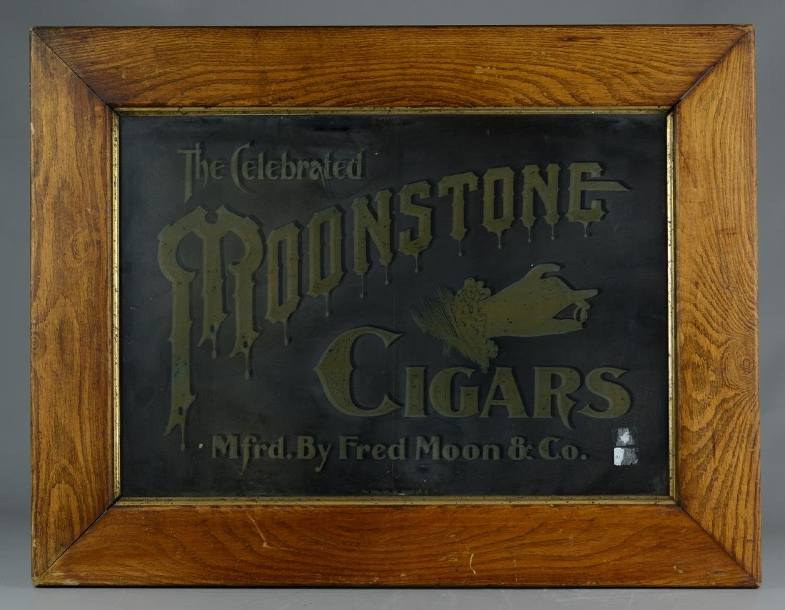 Ironstone Cigars Advertising Sign