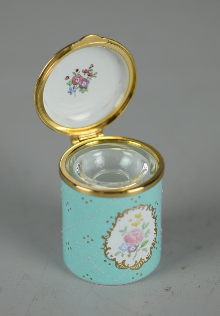 Staffordshire Enamels Inkwell