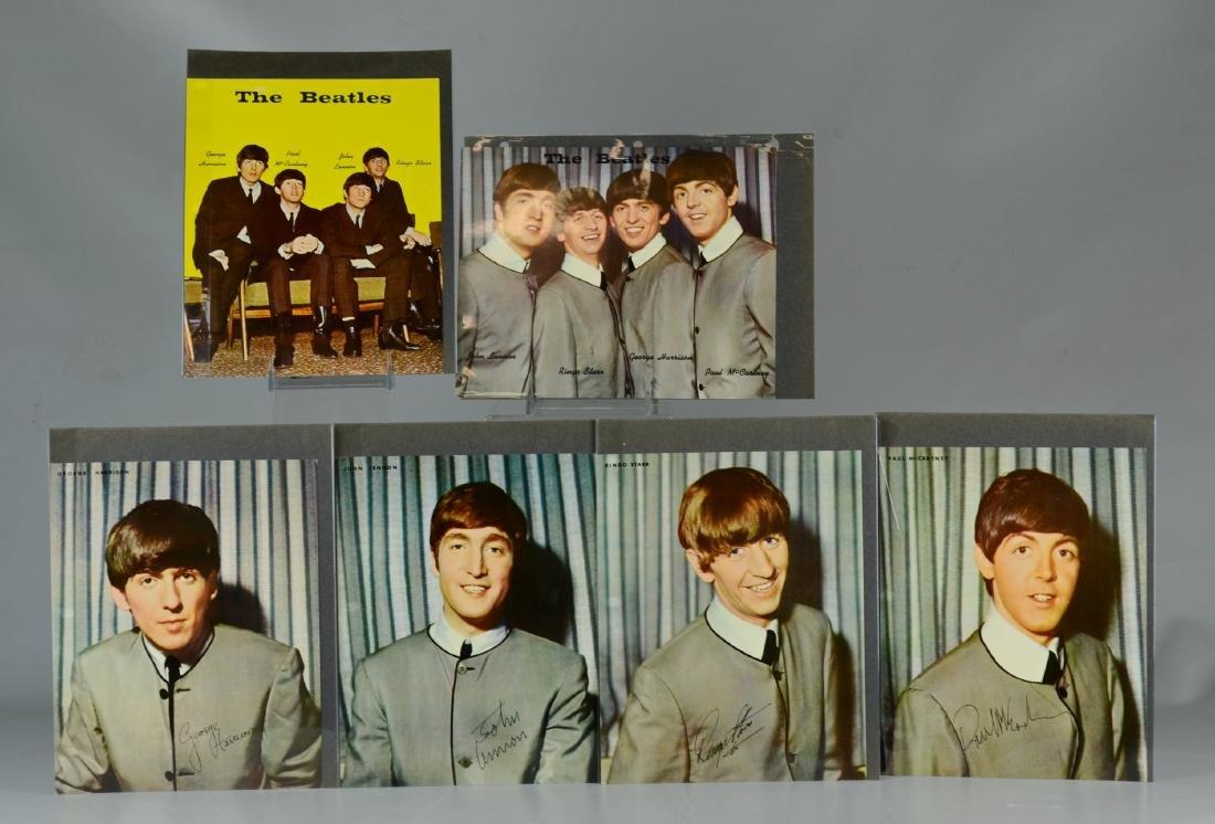 (6) Beatles Photographs