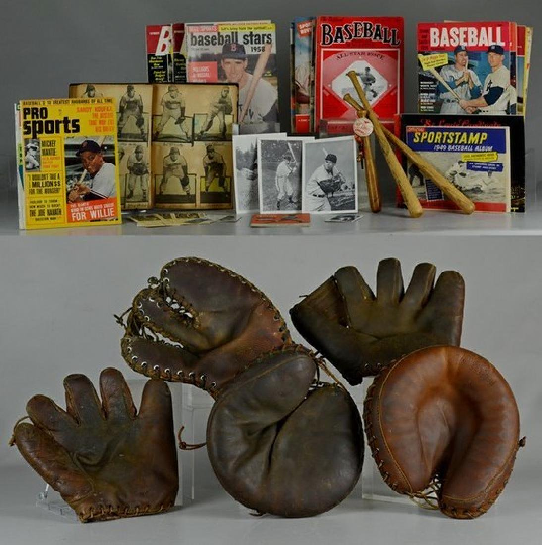 Lot of Baseball Related Items