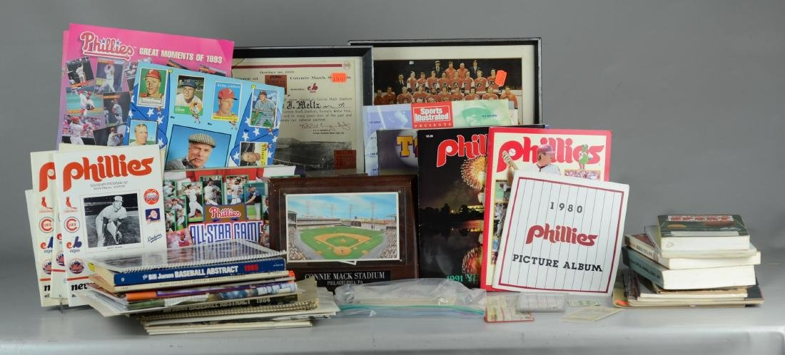 Various sports related ephemera