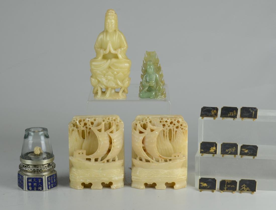 (14) Asian pieces