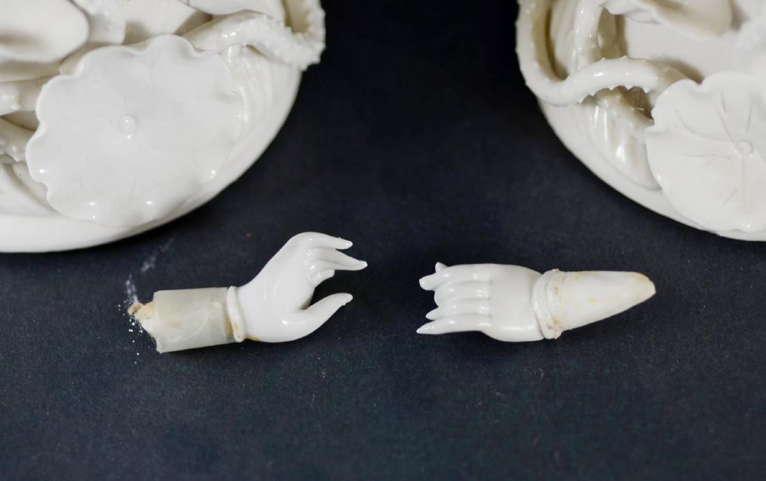 Pr Chinese porcelain blanc de chine figures - 2