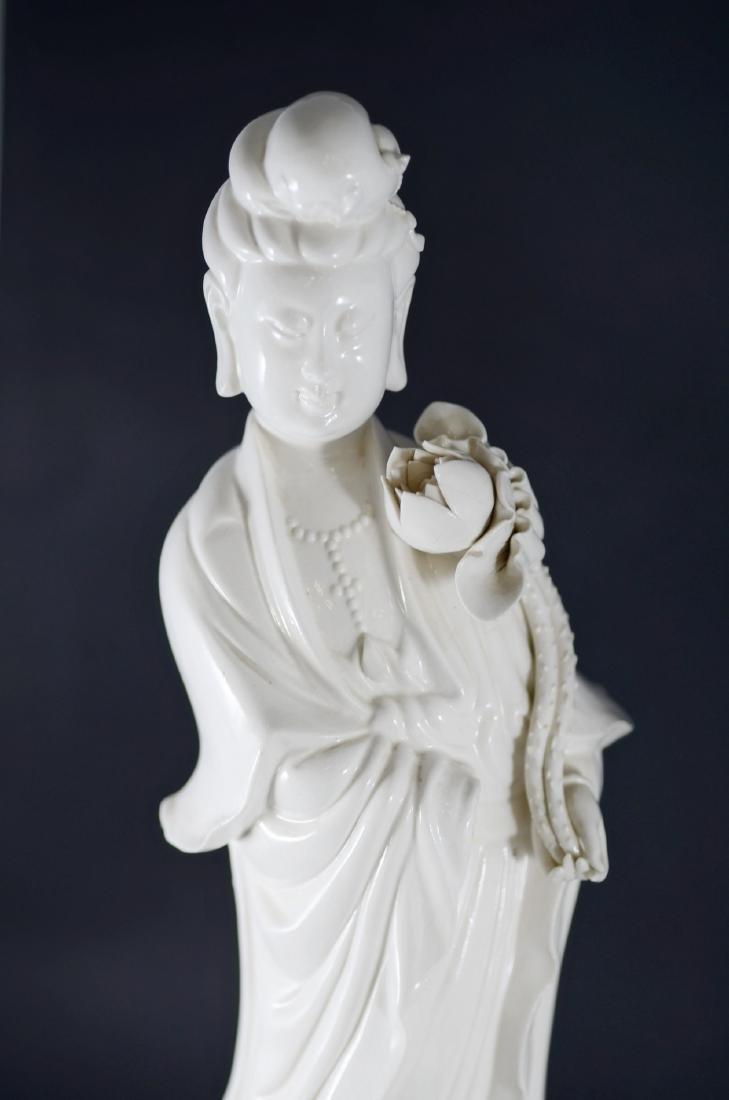 Pr Chinese porcelain blanc de chine figures - 3