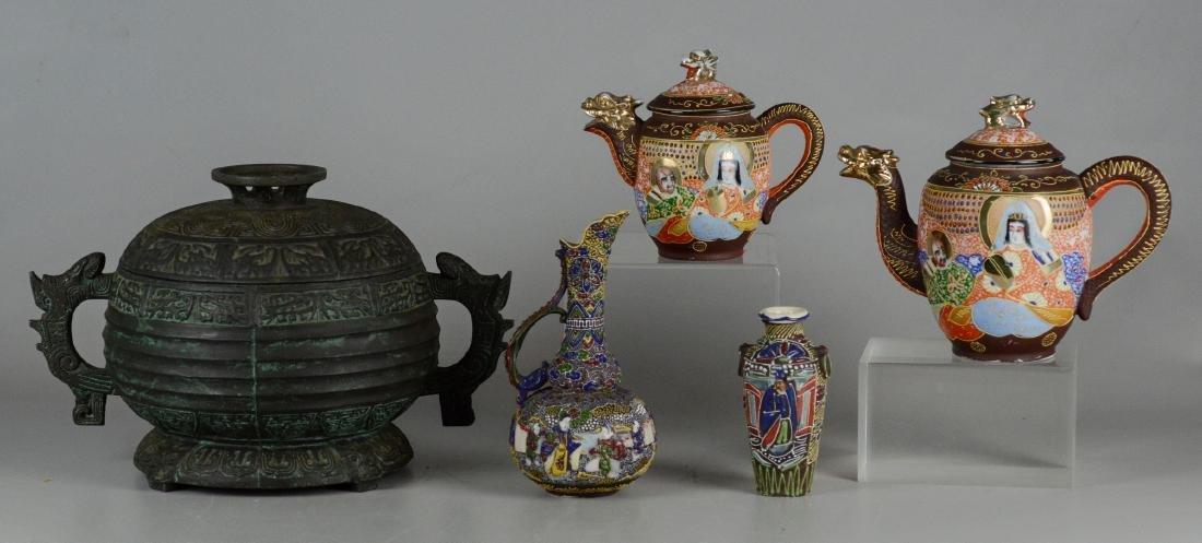 (5) Asian Porcelain