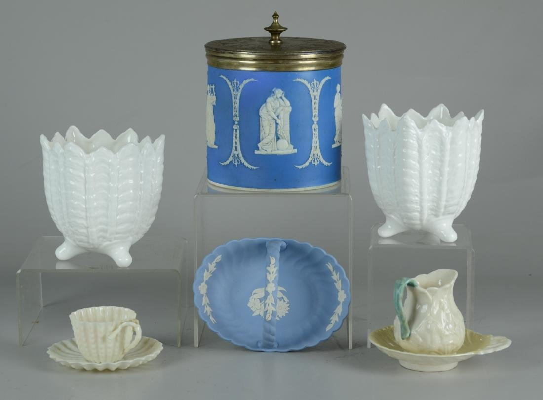 (8) Pcs Porcelain - Wedgwood, Belleek