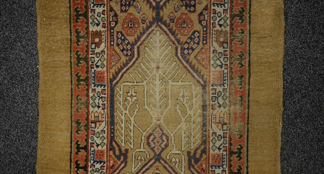 "Circa 1920's Serab Rug, 2'6"" x 12'3"" - 3"