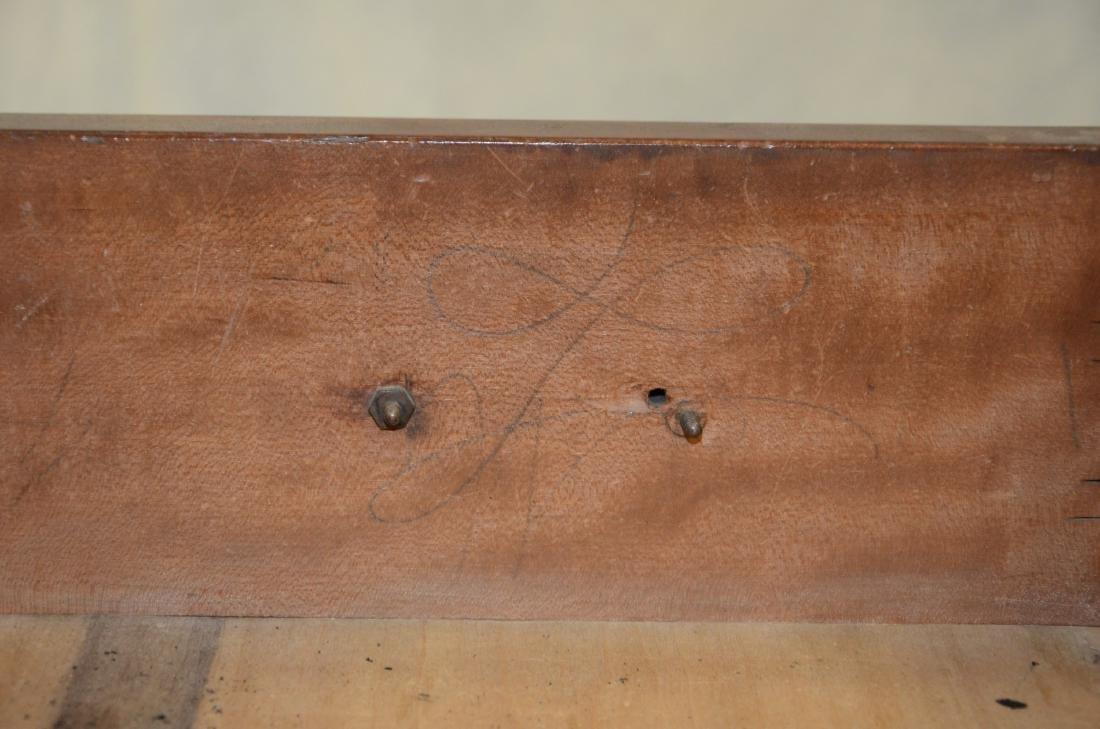 American cherry chest on frame top on bracket base - 4