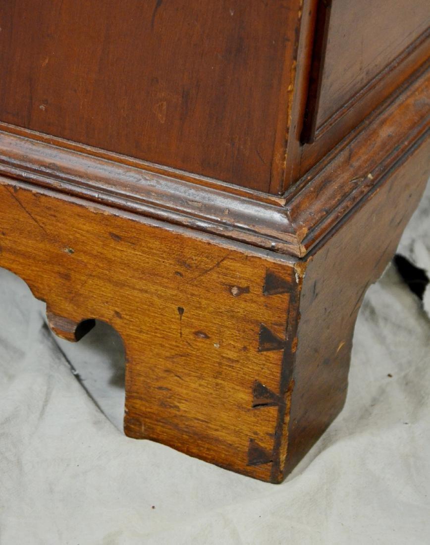 American cherry chest on frame top on bracket base - 5