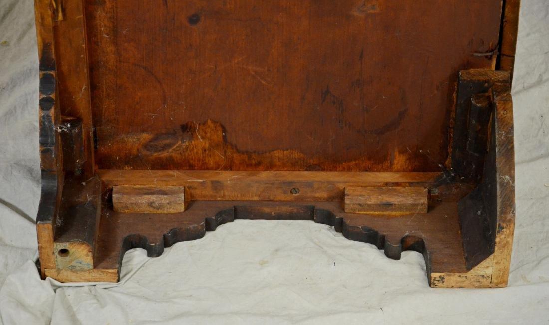 American cherry chest on frame top on bracket base - 7