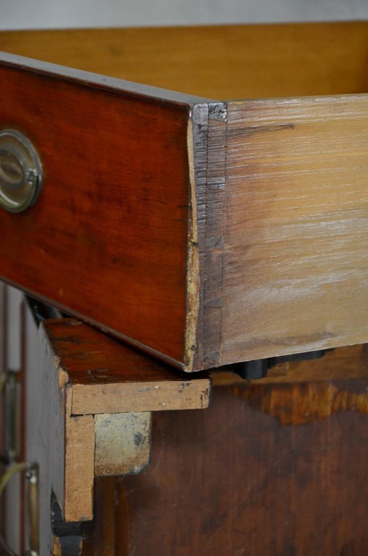 American cherry chest on frame top on bracket base - 9