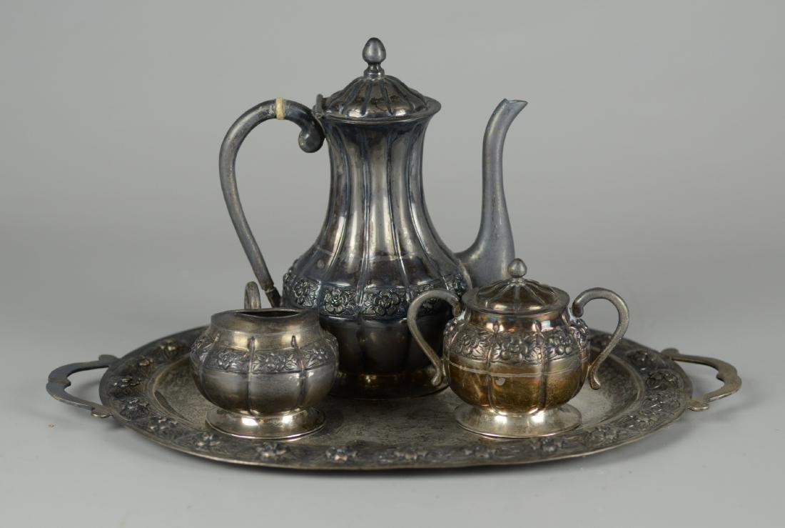 Sanborns Mexico Sterling Tea Set
