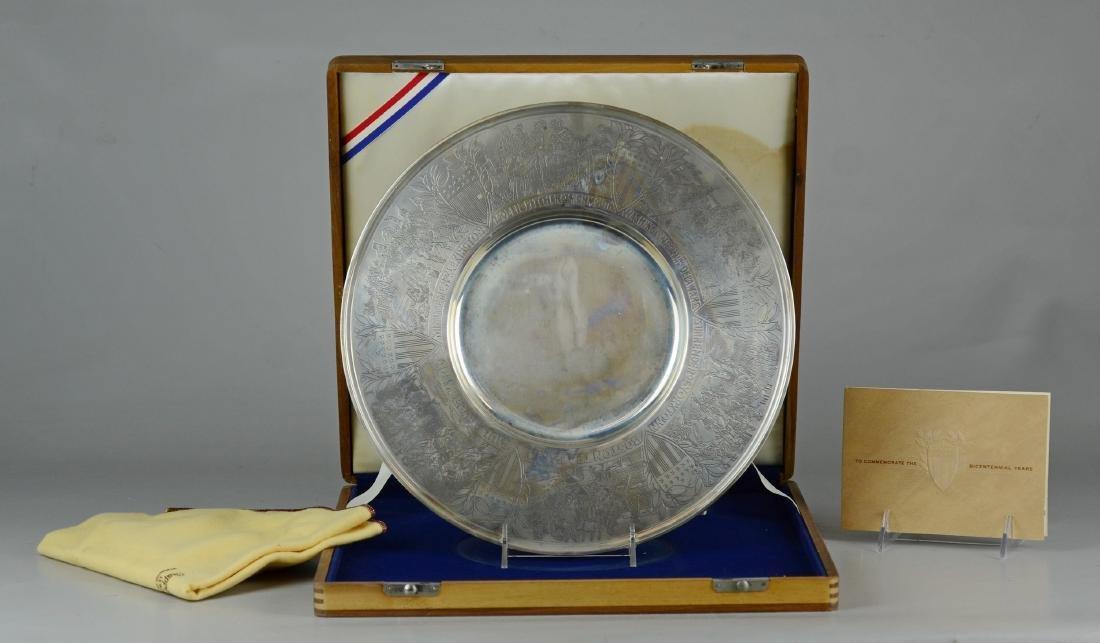 Gorham Sterling Bicentennial Plate