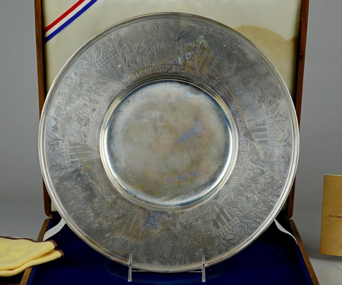 Gorham Sterling Bicentennial Plate - 2