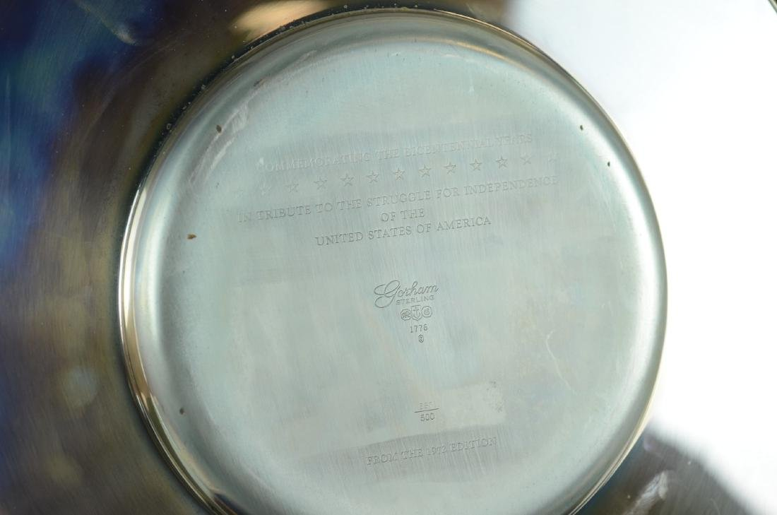 Gorham Sterling Bicentennial Plate - 3