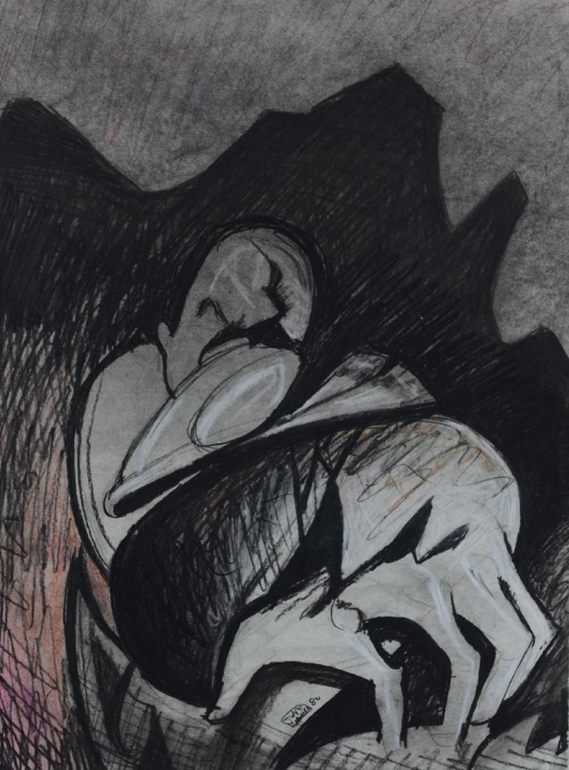 Juan Gomez Abstract drawing
