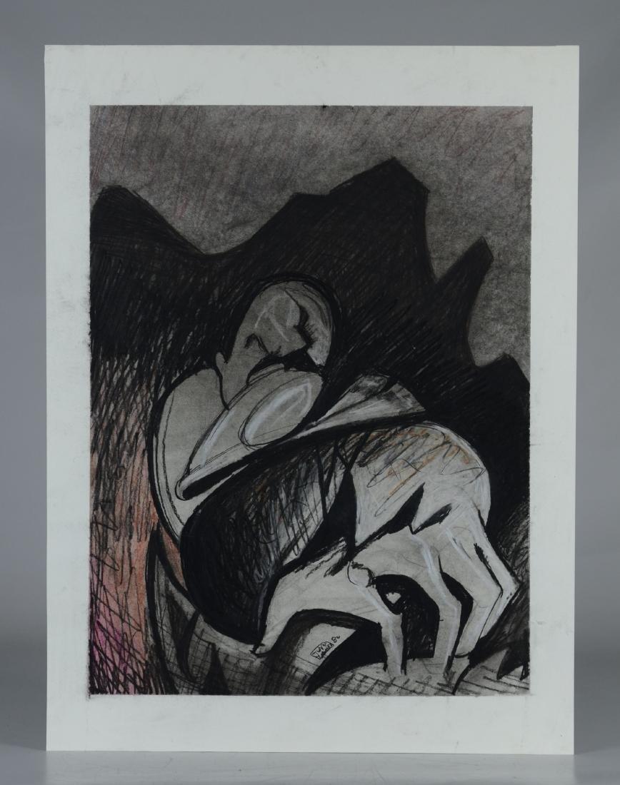 Juan Gomez Abstract drawing - 2