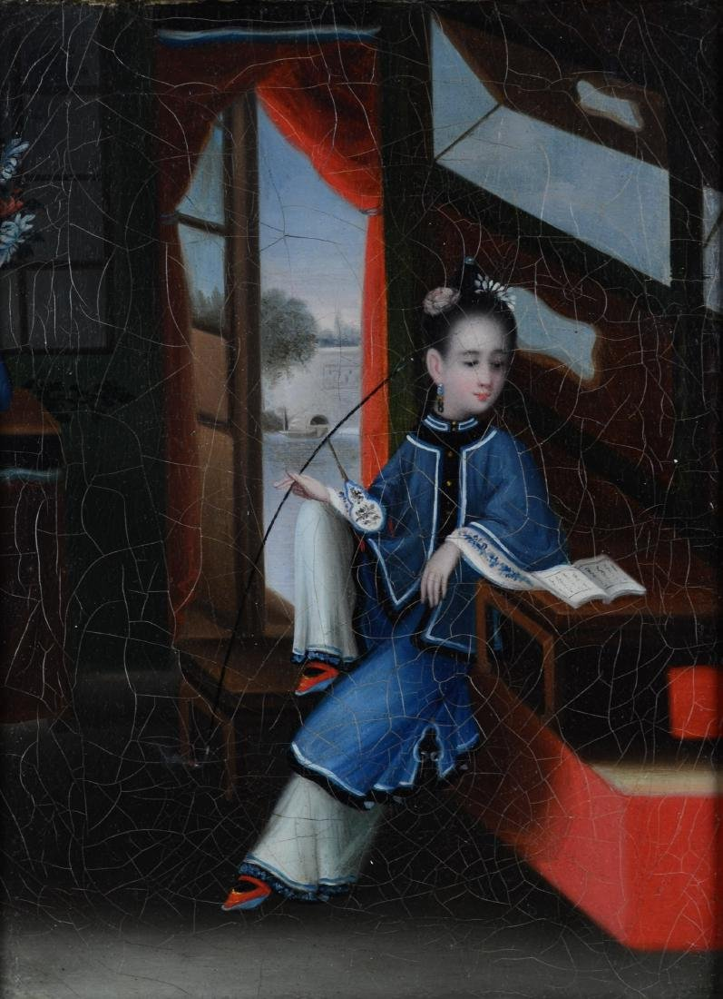 Attributed Youqua, Painting of a Chinese Girl