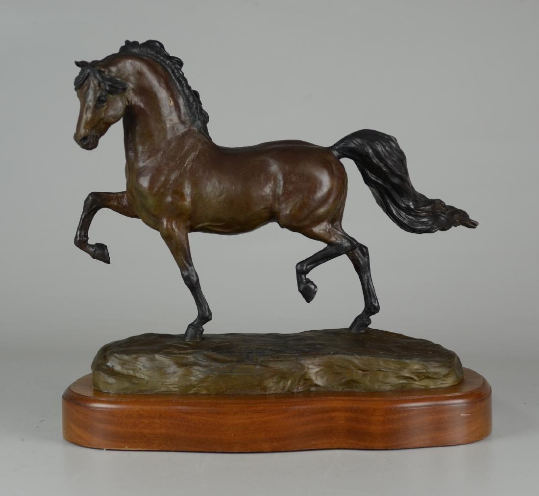 "Bronze Horse Sculpture ""Grand Champion"""