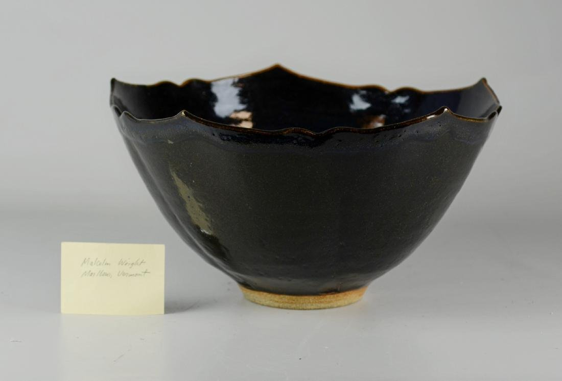 Malcolm Wright Pottery Bowl