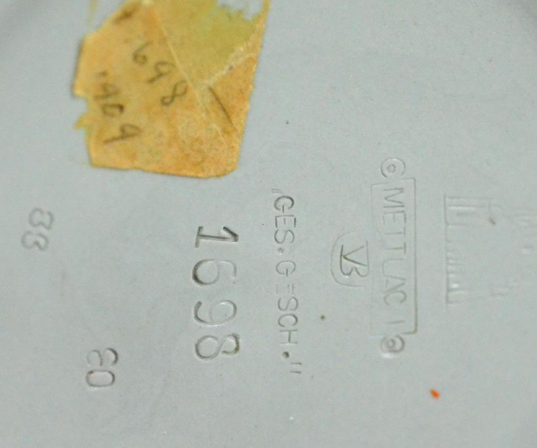 (3) Mettlach steins, 1644, 1698, 1526 - 4