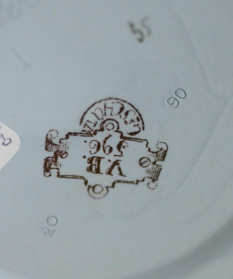 (3) Mettlach steins, 1644, 1698, 1526 - 5