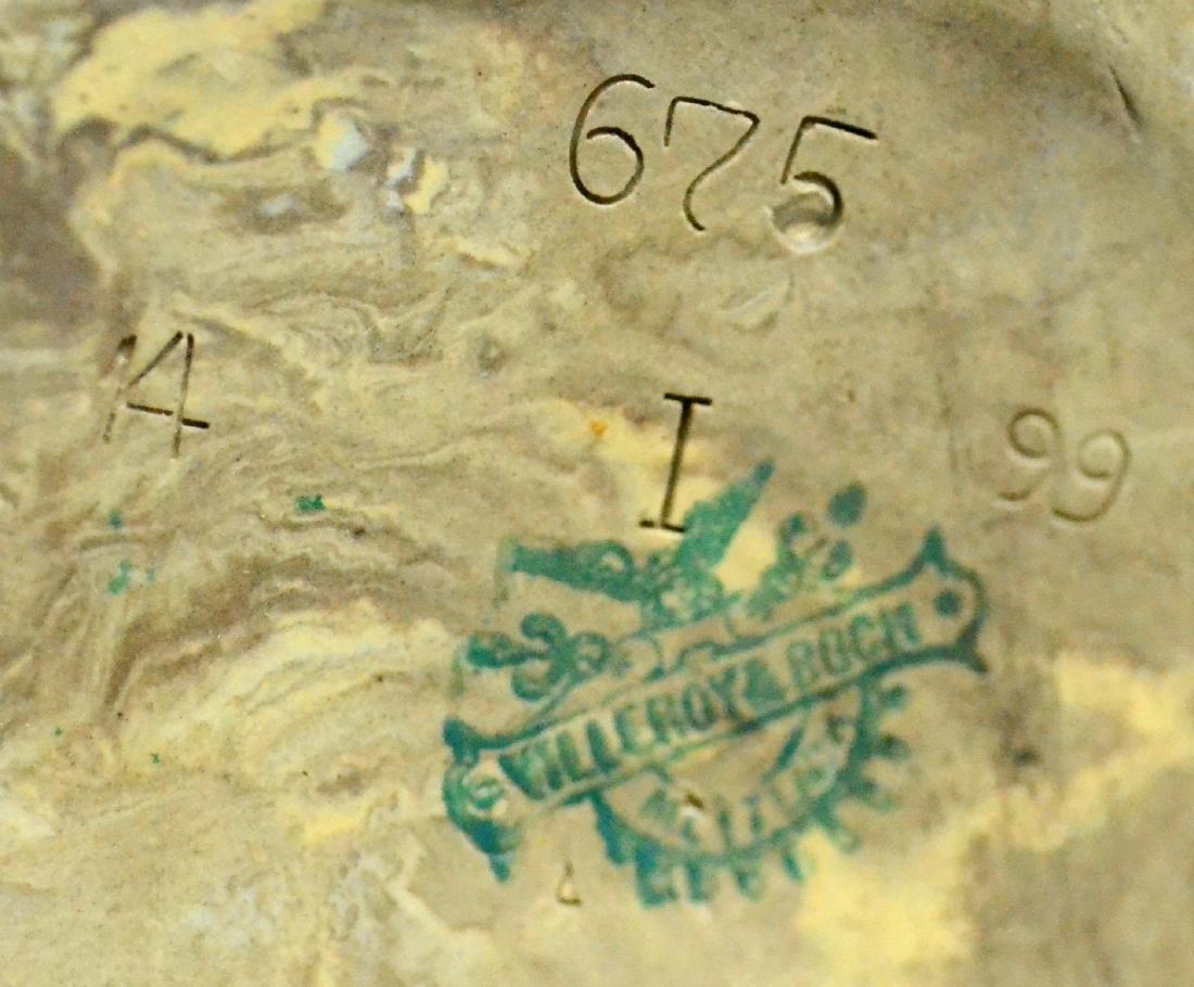 (3) 0.5 L Mettlach Relief Barrel Steins, 468, 675 - 4