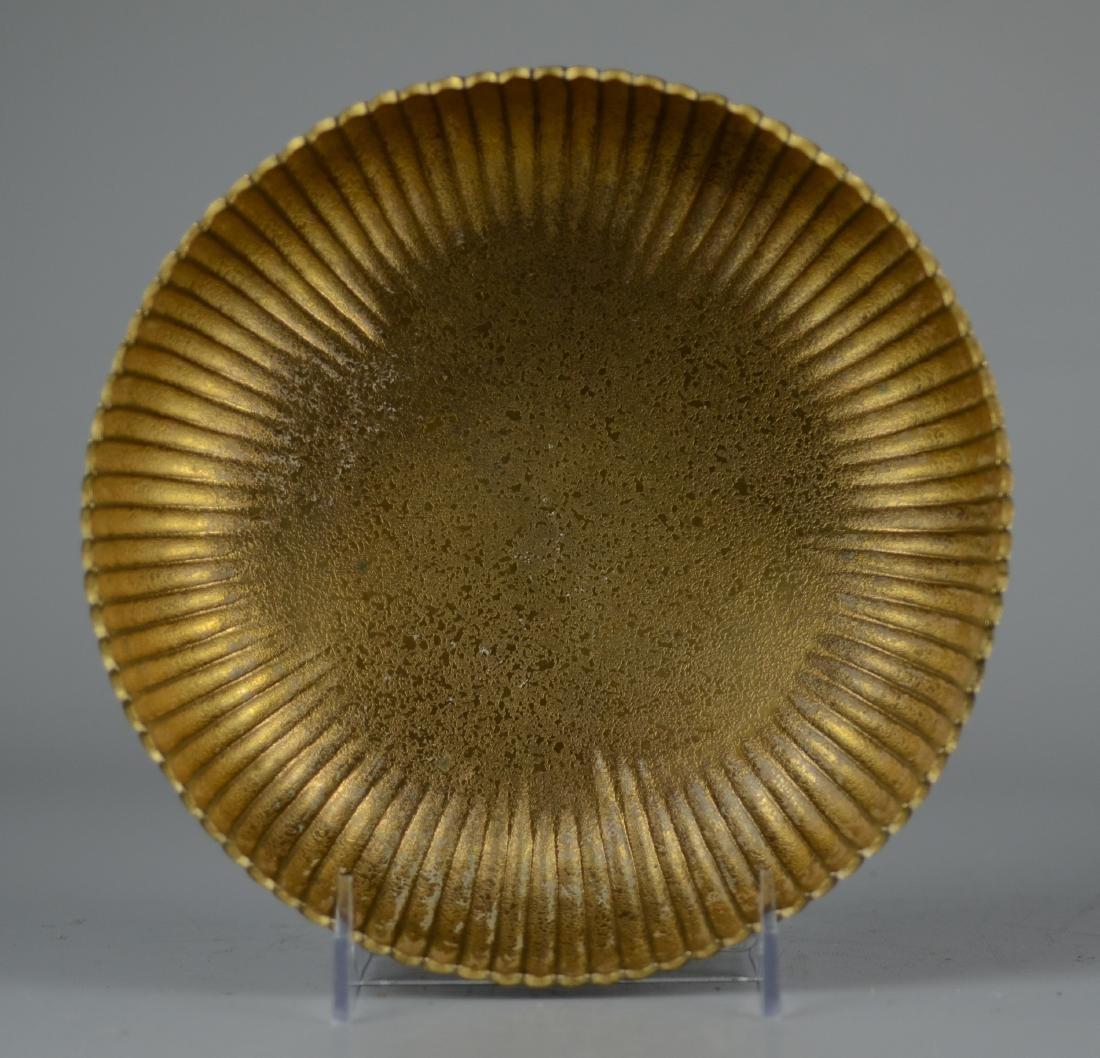 Tiffany Studios Gilt Bronze Bowl