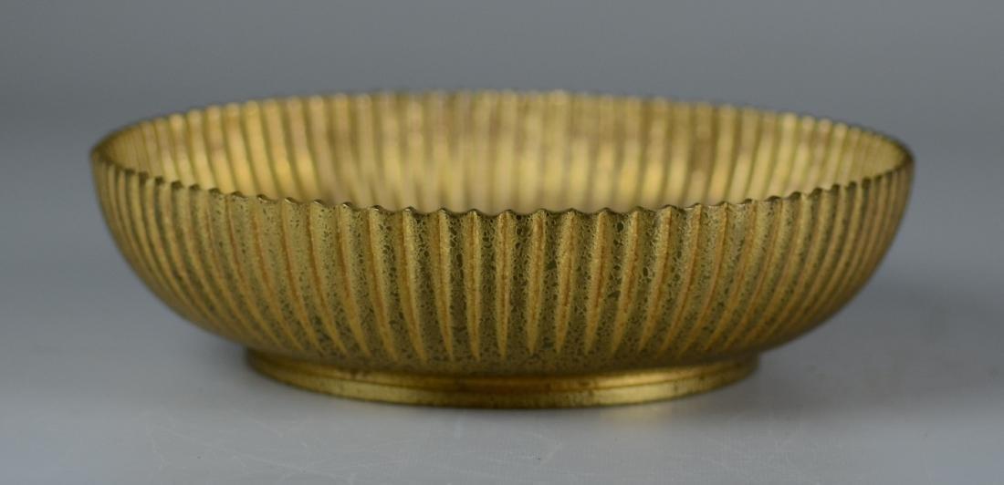 Tiffany Studios Gilt Bronze Bowl - 4