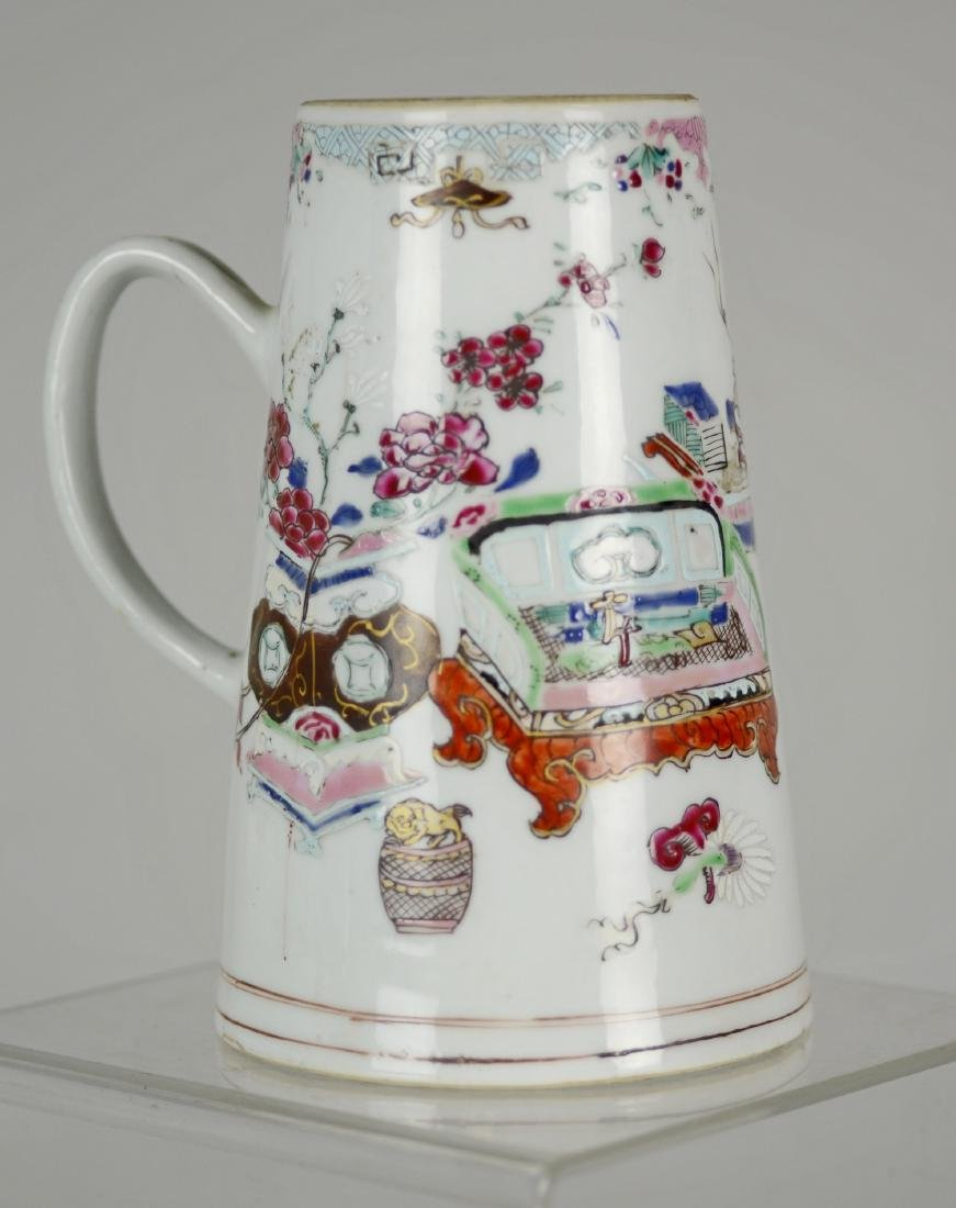 Chinese Export Porcelain Chocolate Pot