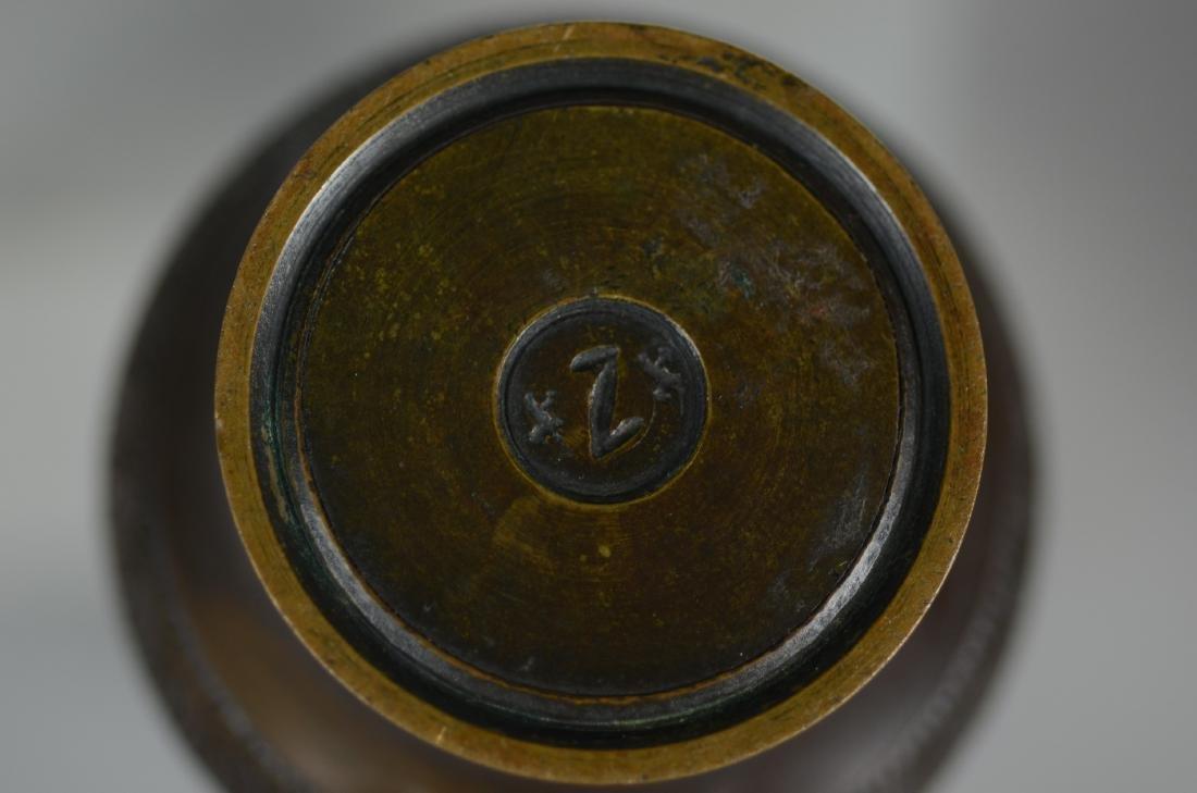 Pr Chinese Bronze Vases - 3