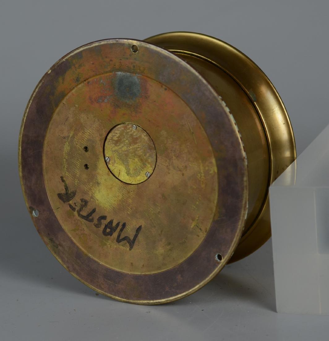 """Chelsea brass 5"""" ships clock, ships bell strik - 2"""