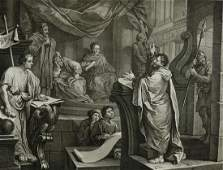 William Hogarth English 16971764 engraving on