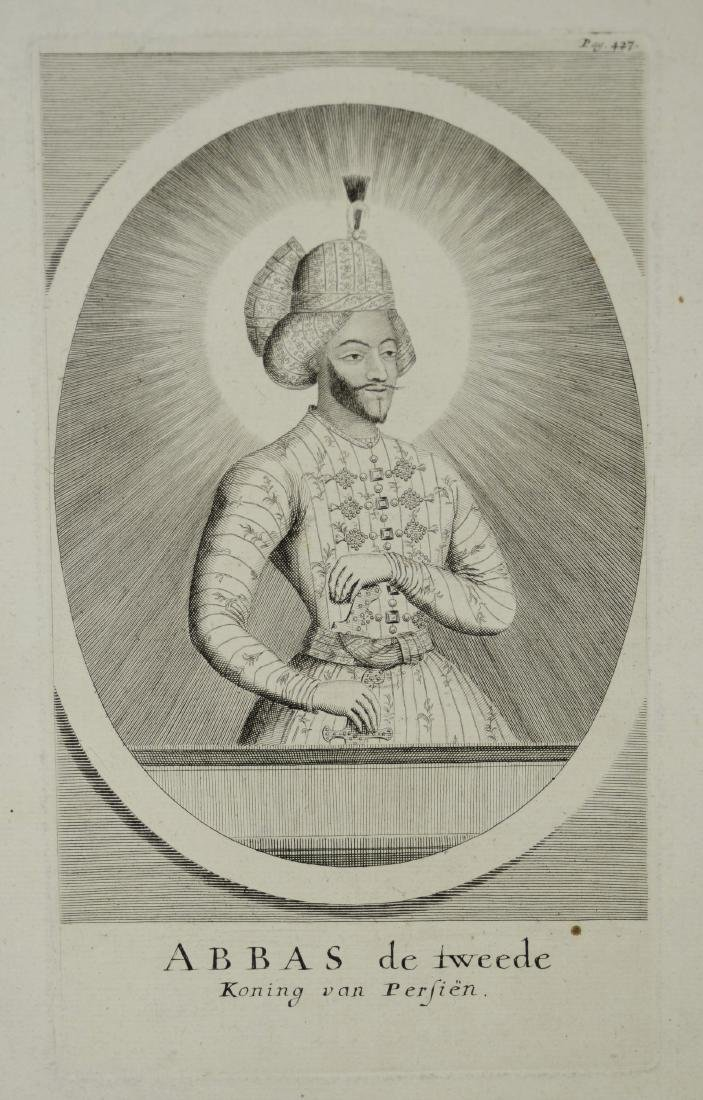 (3) Antiquarian portrait engravings - 2
