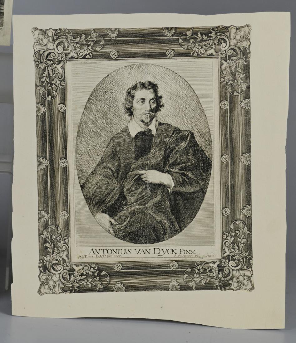 (3) Antiquarian portrait engravings - 3
